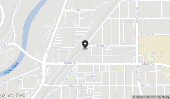 Location of 1014 North St, Sumner, WA 98390
