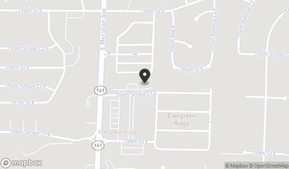 Location of Seddon Plaza: 10305 196th Street Ct E, Graham, WA 98338