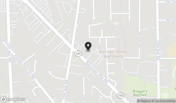 Location of Professional Office Building: 19940 Ballinger Way NE, Shoreline, WA 98155