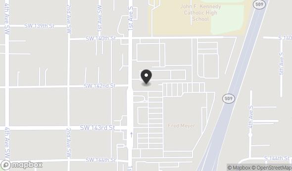 Location of Burien Retail Plaza: 14200 1st Ave S, Burien, WA 98168