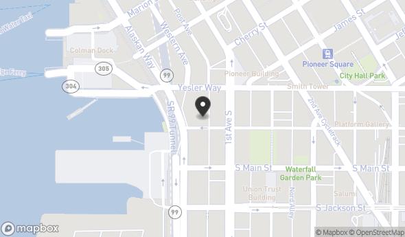Location of Washington Park Building: 80 S Washington St, Seattle, WA 98104