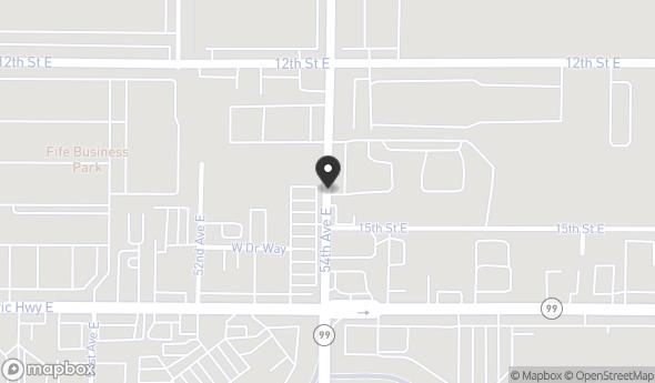 Location of Fife Square: 1414-1522 54th Avenue East, Fife, WA, 98424
