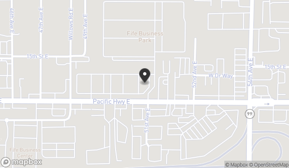 Location of Fife Business Park: 5003 Pacific Hwy E, Fife, WA 98424
