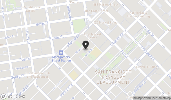 Location of 71 Stevenson St, San Francisco, CA 94105