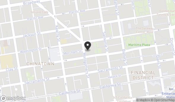 Location of 620 Montgomery Street, San Francisco, CA 94111