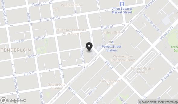 Location of One Hallidie Plaza, Suite 402: 1 Hallidie Plz, San Francisco, CA 94102
