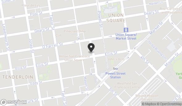 Location of 101 Cyril Magnin St, San Francisco, CA 94102