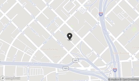 Location of 264 Dore St, San Francisco, CA 94103