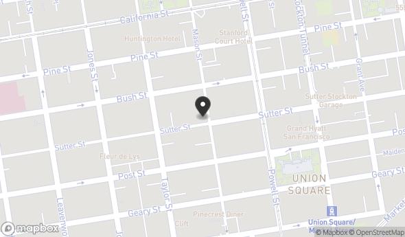 Location of 600 Mason Street, San Francisco, CA 94108