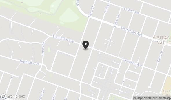 1437 Sunnydale Avenue Map View