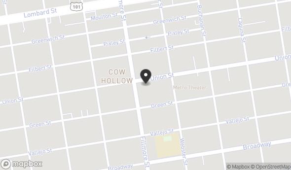 Location of 2181 Union St, San Francisco, CA 94123