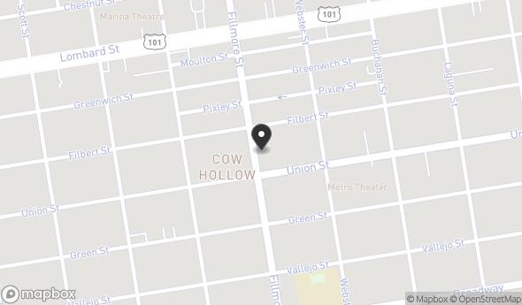 Location of 3030 Fillmore St, San Francisco, CA 94123