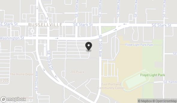 Location of PLAZA 205: 10560 SE Washington St, Portland, OR 97216