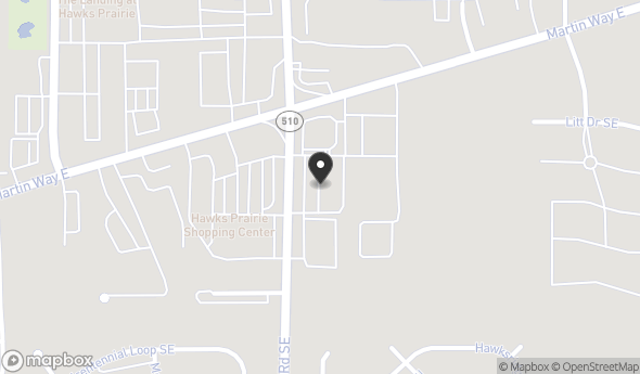 Location of HAWKS PRAIRIE PROFESSIONAL CENTER: 130 Marvin Rd SE, Lacey, WA 98503