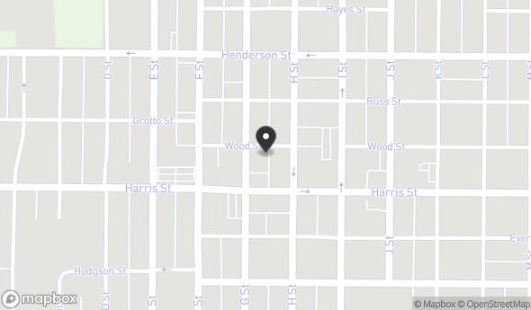 Location of 616 Wood St, Eureka, CA 95501