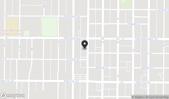 Location of 2840 F St, Eureka, CA 95501