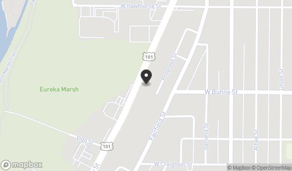 Location of 2401 Broadway, Eureka, CA 95501