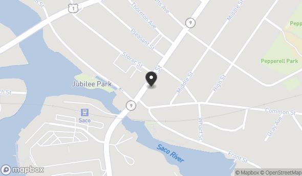 Location of 199 Main St, Saco, ME 04072