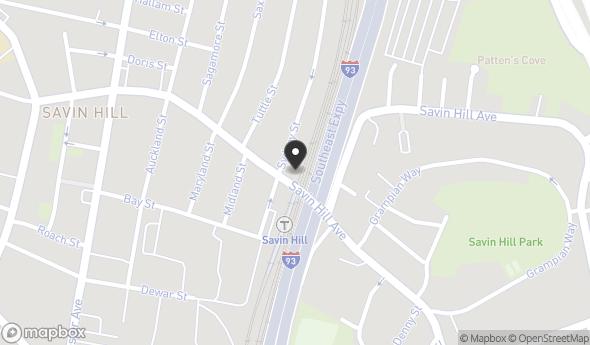 Location of 120 Savin Hill Ave, Boston, MA 02125