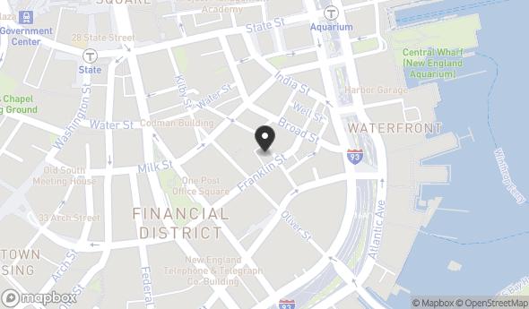 Location of 274 Franklin St, Boston, MA 02110