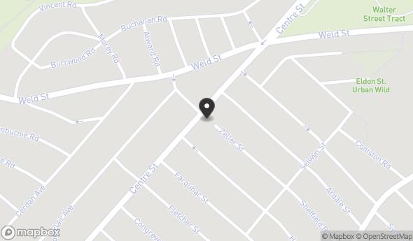 Location of 1942 Centre St, Boston, MA 02132