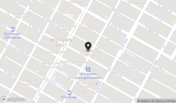 642 Lexington Avenue Map View