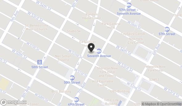 Location Of 810 7th Ave New York NY 10019
