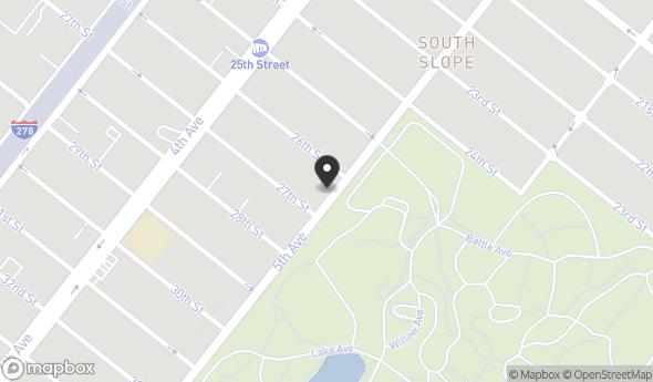 Location of 762 5th Ave, Brooklyn, NY 11232