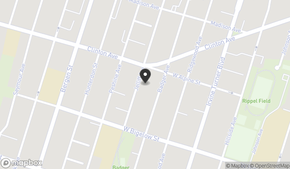 Location of 258 Jelliff Avenue, Newark, NJ 07108