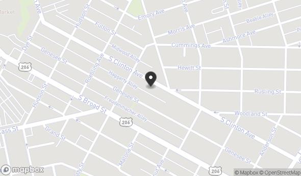 Location of 1027 S Clinton Ave, Trenton, NJ 08611