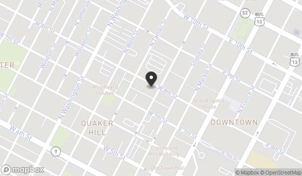 Location of 715 N Orange St, Wilmington, DE 19801