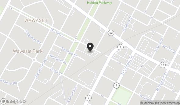 Location of 1010 N Bancroft Pkwy, Wilmington, DE 19805
