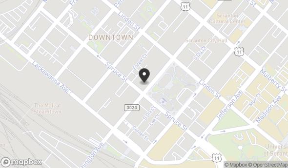 Location of Scranton Office Space: 205 N Washington Avenue, Scranton, PA 18503