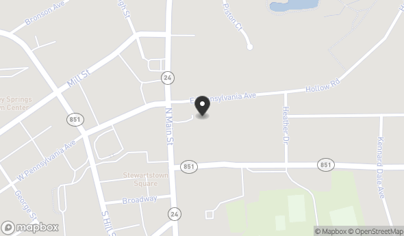 Location of 5 S Main St, Stewartstown, PA 17363