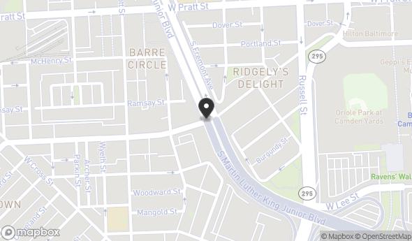 700 Washington Blvd Map View