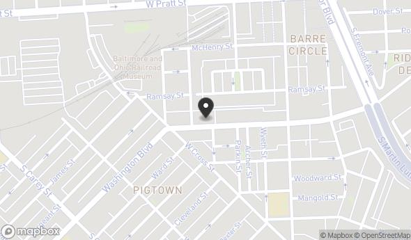 908 Washington Blvd Map View