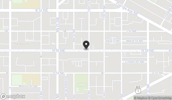 922 H Street Northeast Map View