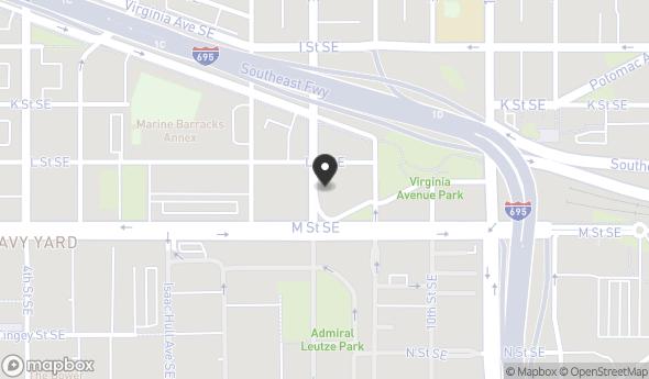 Location of 1106 8th St SE, Washington, DC 20003