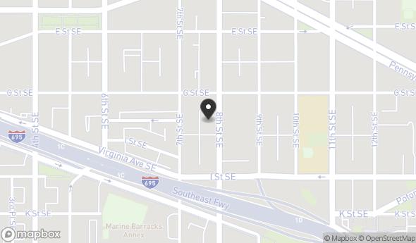 Location of 719 8th St SE, Washington, DC 20003