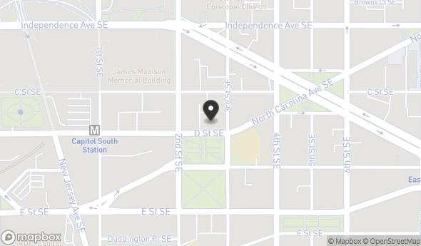216-218 D Street Southeast Map View