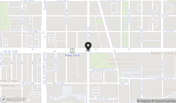 99 M St SE Map View