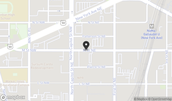 22 M Street Northeast Map View