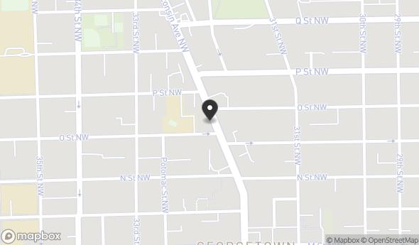 Location of 1408 Wisconsin Ave NW, Washington, DC 20007
