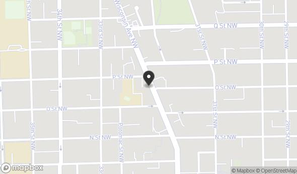 Location of 1432 Wisconsin Ave NW, Washington, DC 20007