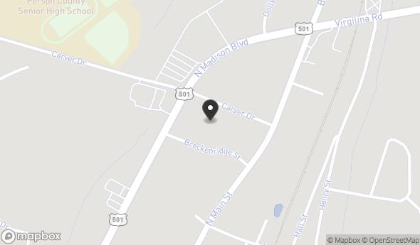 Location of Madison Corners Shopping Center: 904 N Madison Blvd, Roxboro, NC 27573