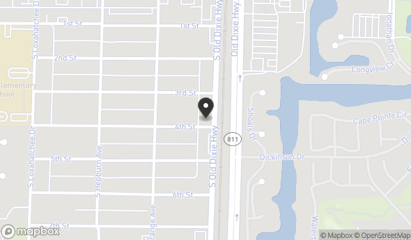 Location of 103 4th St, Jupiter, FL 33458