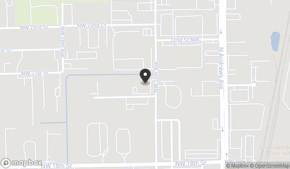 Location of Pompano Beach Industrial Development Site: 2031 NW 15th Avenue, Pompano Beach, FL 33069