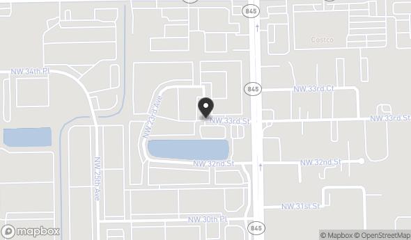 Location of Sample Road Surplus Land: NW 33rd Street, Pompano Beach, FL 33069