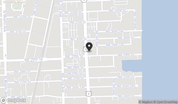 2917 Biscayne Blvd Map View