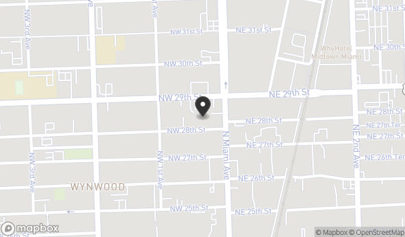 Location of Wynwood Development: 33 NW 28th St, Miami, FL 33127